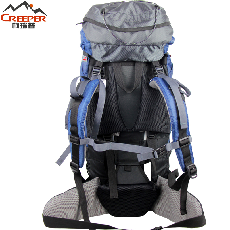 Creeper livraison gratuite sac à dos étanche professionnel cadre externe escalade Camping randonnée sac à dos alpinisme sac 60L - 3