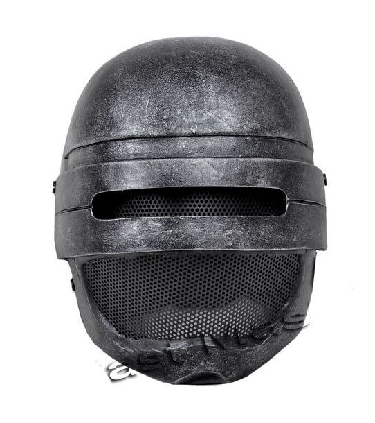 Paintball Airsoft Wire Mesh Attack Robocop Full Face Mask wargame gear helmet paintball party mask airsoft wire mesh spectre 1 0 full face mask bd8863