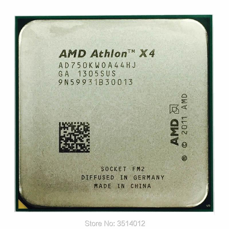 AMD Athlon X4 750K 750 3.4 GHz Duad-Core CPU Processor AD750KWOA44HJ Socket FM2