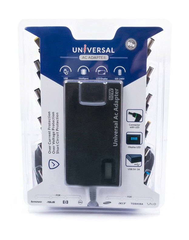 90w universal slim adapter