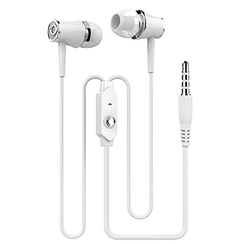 2017 R21 Wired Earphones 3.5MM Super Bass Sport Stereo Earbuds music Headset With microphone for Smartphone MP3 PC