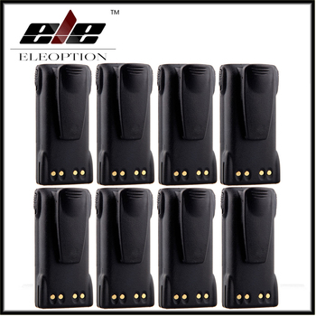 8x Eleoption 7.4V 1300mAh Ni-CD Battery HNN9013 HNN9013B for MOTOROLA HT750 HT1225 HT1550 GP140 GP320