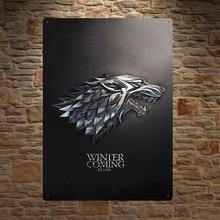 póster juego tronos RETRO VINTAGE