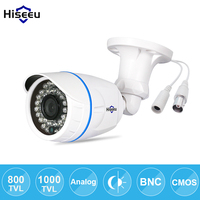 Freeshipping CCTV Camera Analog 1000TVL IR Cut 24 Hour Day Night Vision Video Outdoor Waterproof Bullet