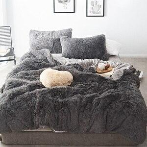 Pure Color Mink Velvet Bedding