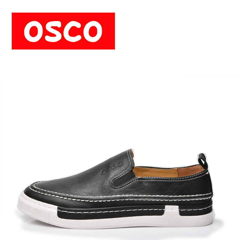 OSCO ALL SEASON New Men Shoes Fashion Men Casual COW LEATHER Shoe#A3017 пена монтажная mastertex all season 750 pro всесезонная