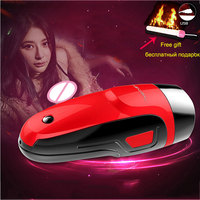 4D Pussy Vagina Male Masturbator Sex Toys for Men 10 Vibration Models Real Pocket Pussy USB Charging Adult Sex Products
