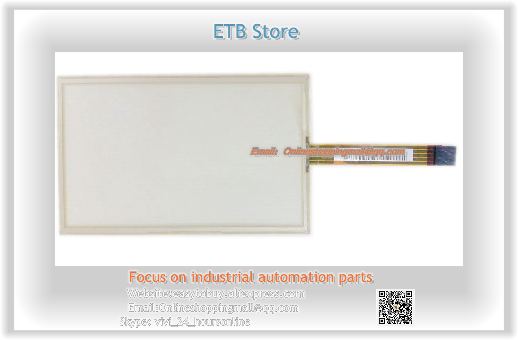ФОТО Original AMT 2525 AMT2525 5-line 7 inch  resistance touch screen