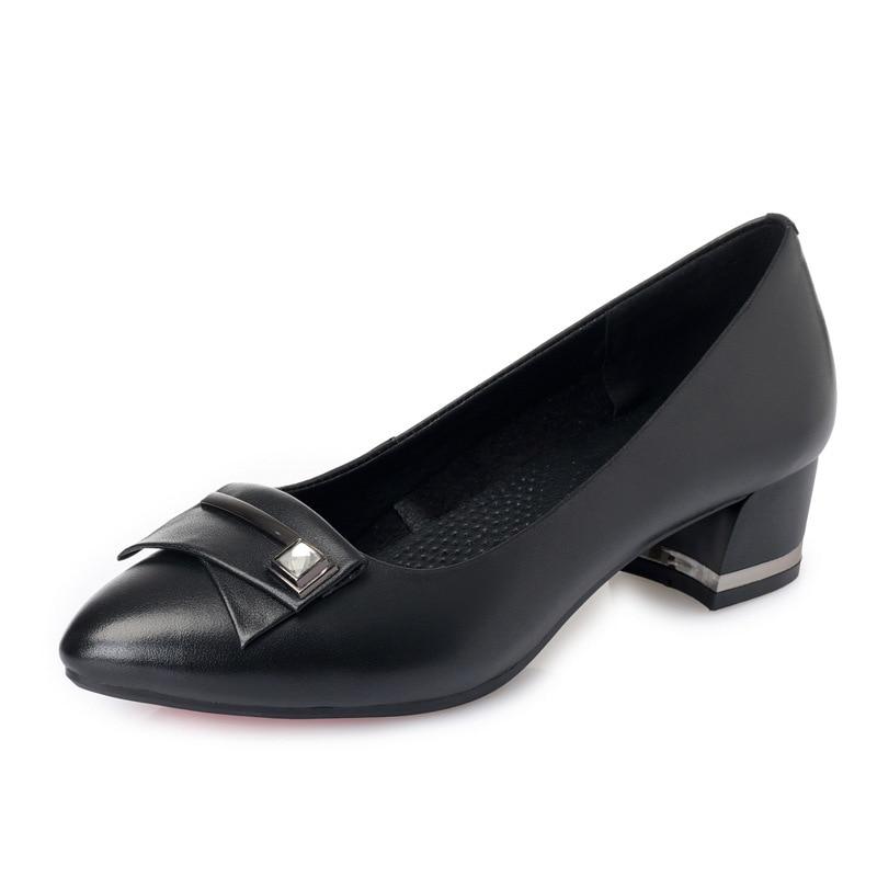 Moda Cuero Tacón Zxryxgs Mujeres Tacones Negro 2019 Genuino beige Baja De Altos  Zapatos Nuevos Señaló rojo Boca Alto Marca ... de56986b3edd