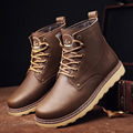 European Leisure Style Short Motorcycle Boots For Mens Nubuck Leather Winter Male Shoes Black High Quality Martin Boot Solid