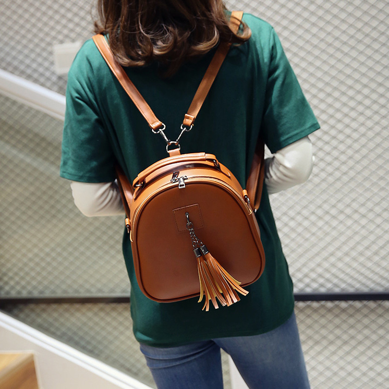 1b0fbae10176 LeftSide женские модные ботильоны с кисточками винтажные ПУ кожаные рюкзаки  школьные сумки для девочек-подростков небольшая сумка женский рюкзак |  Рюкзаки с ...
