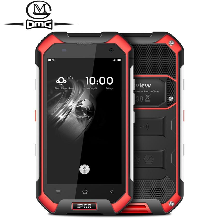 Originale Blackview BV6000S IP68 Impermeabile antiurto Smartphone MT6737T Quad Core Android 6.0 4G LTE 2 GB di RAM 4.7