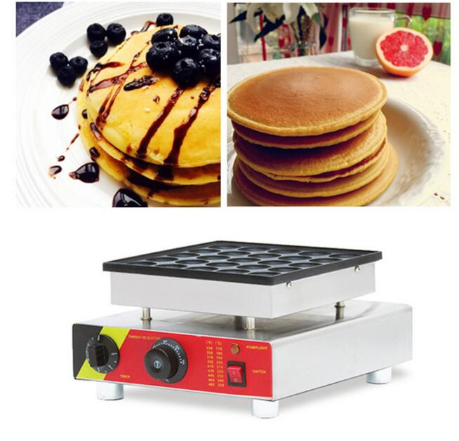 Dutch Muffin Machine 220V/110V 25 Holes Waffle Maker Commercial Copper Simmering Machine Nestle Furnace Muffin Machine NP 542