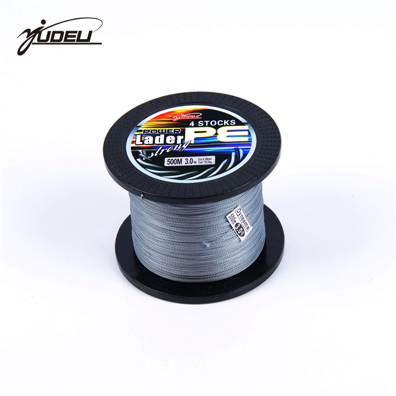 US $18 06 |YUDELI 500m 6 120LB fishing line 4 strand braid Rope Super  Strong smoother 100% PE Braided Multifilament fishing line-in Fishing Lines  from