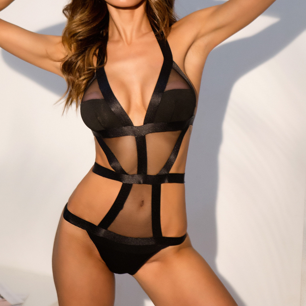 Women's clothing sexy lingerie open erotic erotic <font><b>dolls</b></font> transparent women's sexy lingerie <font><b>sex</b></font> sexy lingerie sexy clothing catsui image