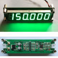 VERDE Contador de Frecuencia de 1 MHz a 1000 MHz RF Singal Tester Medidor Digital LED para Ham Radio Amplificador