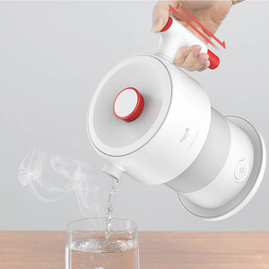 Image 3 - Youpin Deerma 0.6L Folding Portable Electric Water Kettle Handheld Electric Water Flask Pot Auto Power Off Protection Kettle
