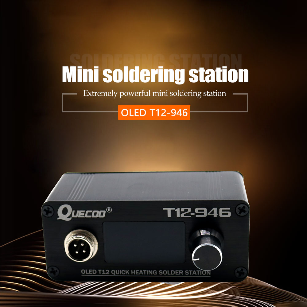 Iron T12 Handle Station Soldering Bigger Welding 3inch Display Tips 946 Controller With 1 Digital Plastic 907 Electronic Mini