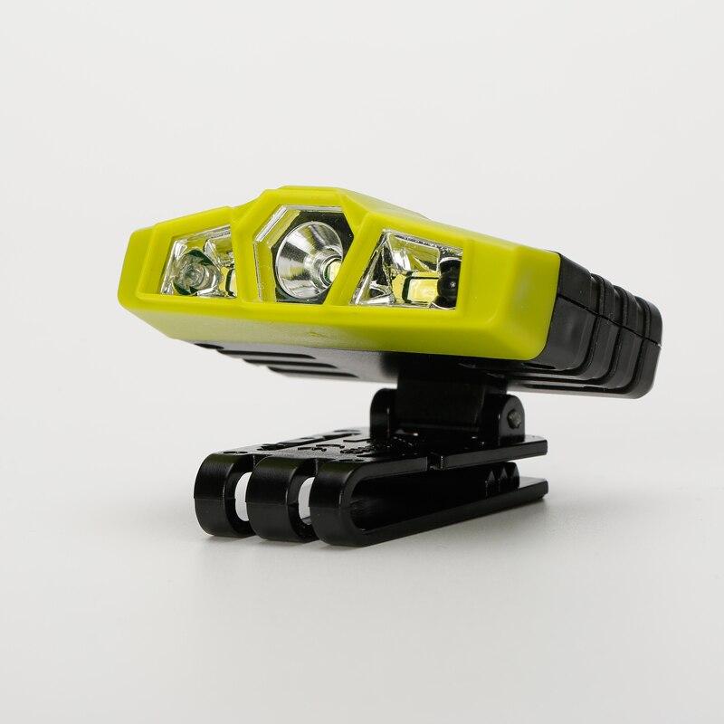 Shenyu Onda Mano Sensore IR di Controllo Del Faro, ricaricabile Del Faro Della Torcia Elettrica per la Corsa, campeggio, pesca, caccia e L'escursionismo