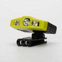 Shenyu Hand Welle IR Sensor Control Scheinwerfer, wiederaufladbare Scheinwerfer Taschenlampe für Laufen, Camping, angeln, jagd und Wandern