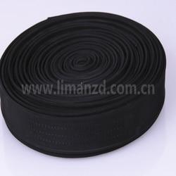 Lourd nylon bande 3.8 cm/3.2 cm noir vente chaude
