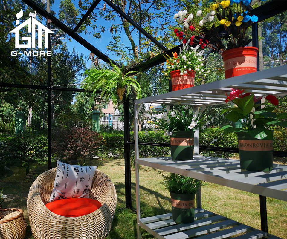 outdoor aluminum gazebo garden green