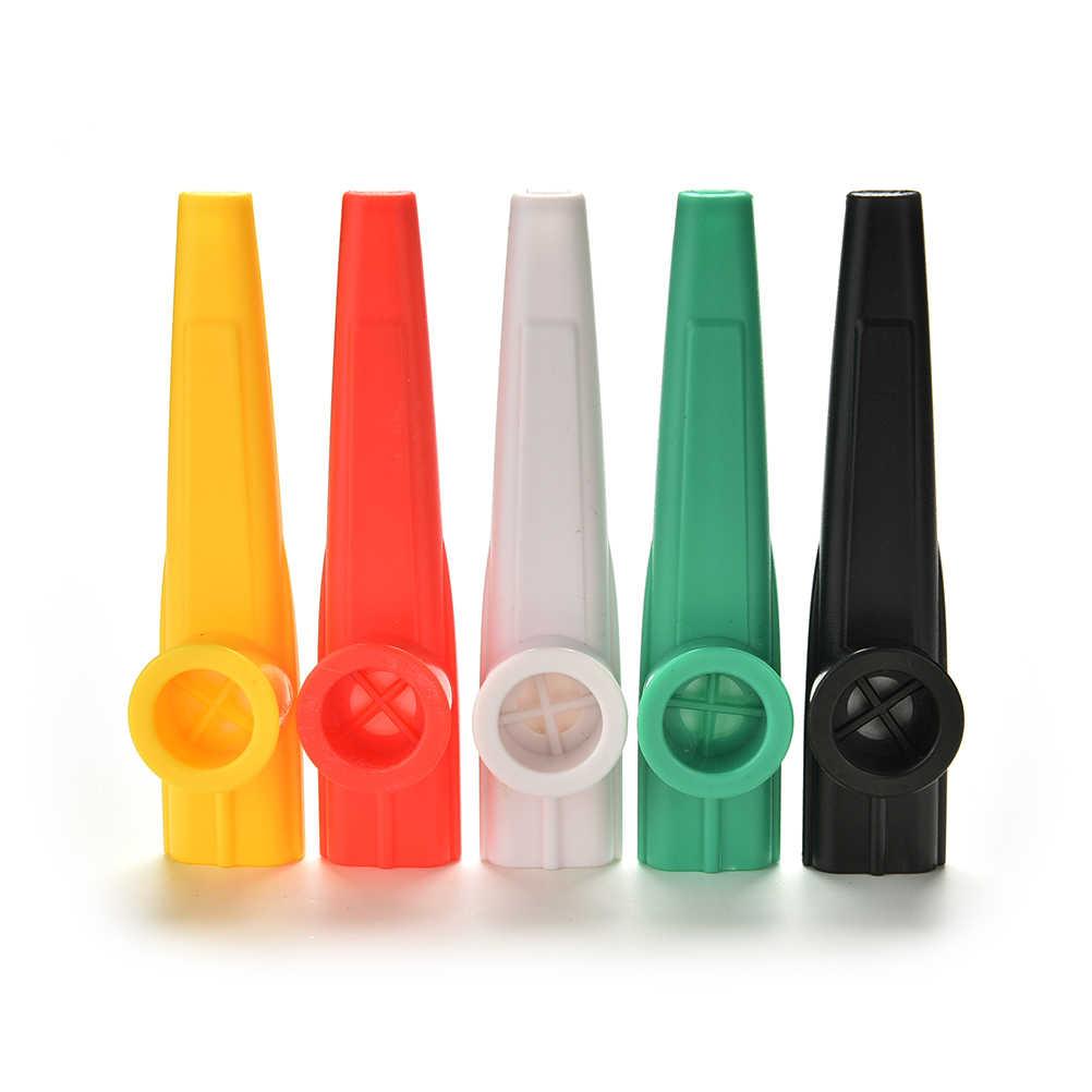 1 قطع henghome حزب هدية للتربية البلاستيك المزمار هارمونيكا الفم الفلوت الاطفال الكبار الطفل لجميع agestoys