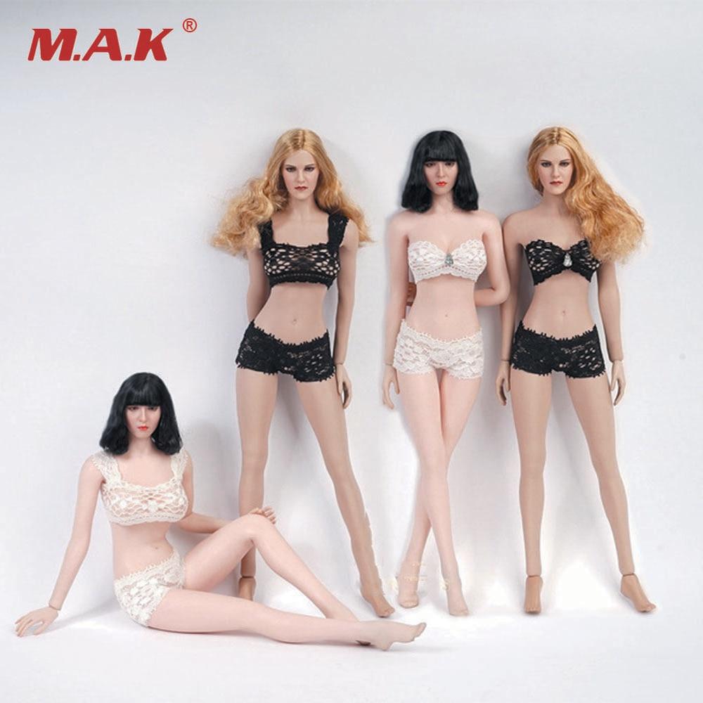 1//6 White Lace Underwear Suit Set 12/'/' Female Clothes F PH//UD//JO Body Model