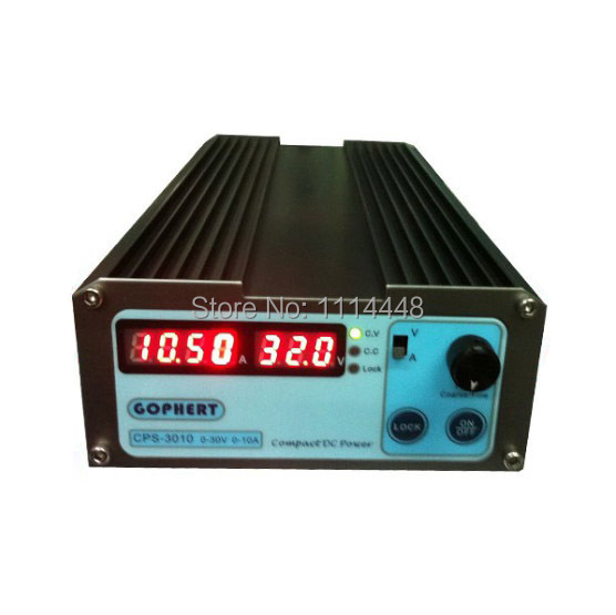 Mini Compact Precision Digital Adjustable DC Power supply CPS3010 30V10A With OVP/OCP/OTP DC power 0.01A 0.1V 1 pc cps 3220 precision compact digital adjustable dc power supply ovp ocp otp low power 32v20a 220v 0 01v 0 01a