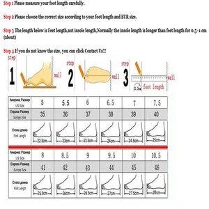 Image 4 - Wadnaso 플러스 크기 35 45 여름 코르크 슬리퍼 샌들 2019 새로운 남성 캐주얼 비치 더블 버클 인쇄 슬립 슬라이드 신발 플랫