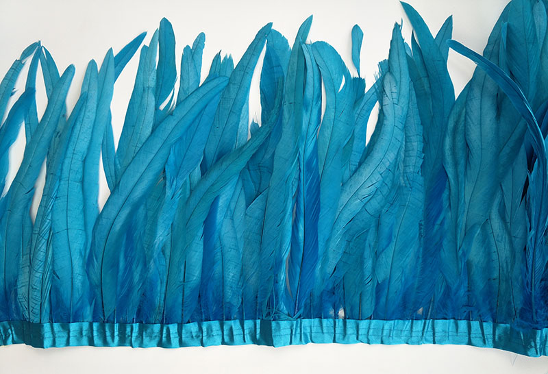 Петух Перья 30 35 см в ширину 2 метра длинные натуральные 20 цветов DIY куриное перо ювелирные изделия Плюм тканевый пояс с перьями