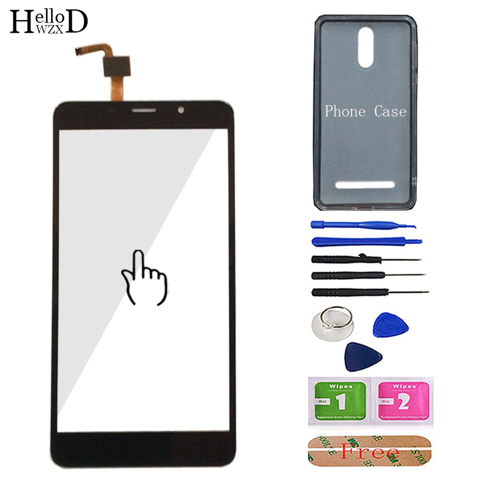 Mobile Touchscreen Touch Screen For <font><b>Leagoo</b></font> <font><b>M8</b></font> / <font><b>M8</b></font> <font><b>Pro</b></font> Touch Screen Digitizer Front Glass Touch Panel Tools Free Phone Case image