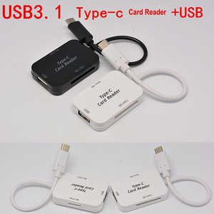 Image 3 - Baolyda Type C & micro USB & USB 3 In 1 OTG Card Reader High speed USB2.0 Universal OTG TF/SD for  Android Computer