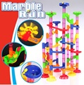 Top Quality 105PCS/SET DIY Construction Marble Race Run Maze Balls Track Building Blocks Children Gift Baby Kid's Toy