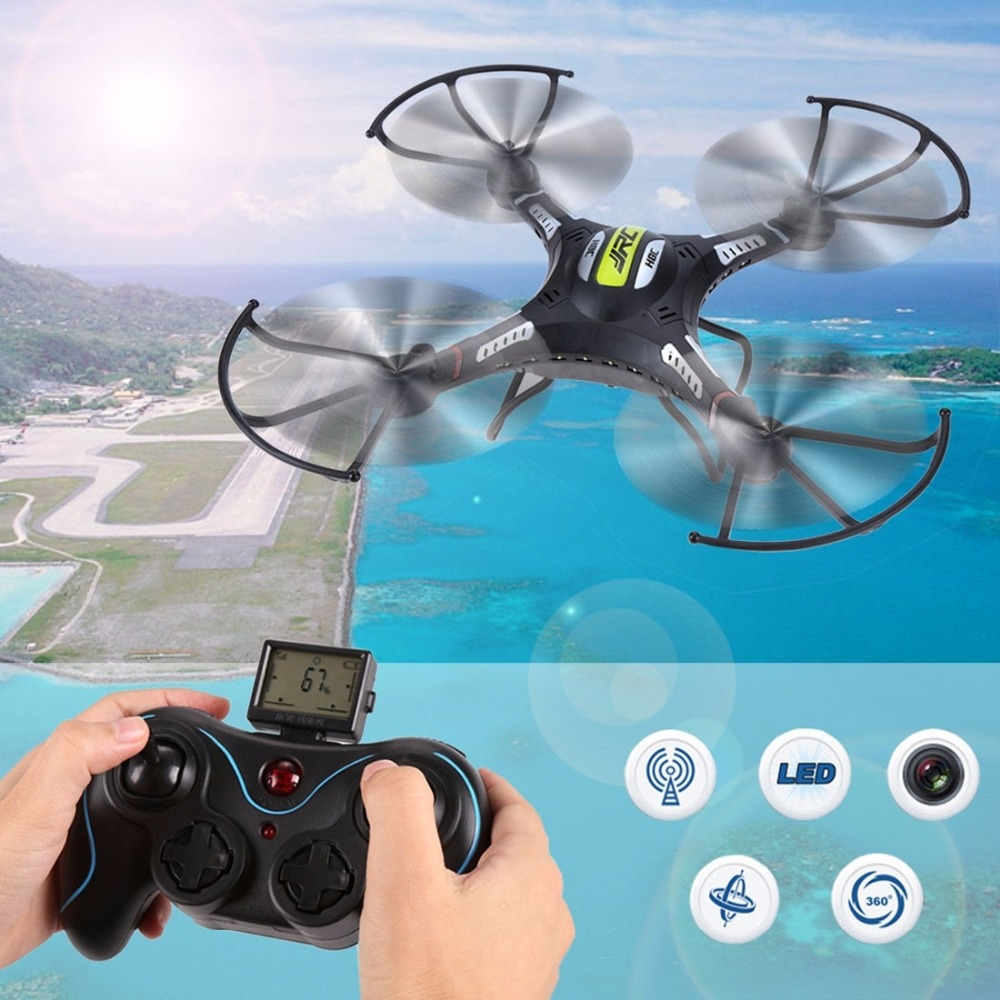 JJRC H8C-2 6-axis Gyro 4-Channel 2.4GHz RC Mini Quadcopter with 2.0MP Camera jjrc jj810 2 4g 4 channel 6 axis mini rc quadcopter gyro aerocraft with led