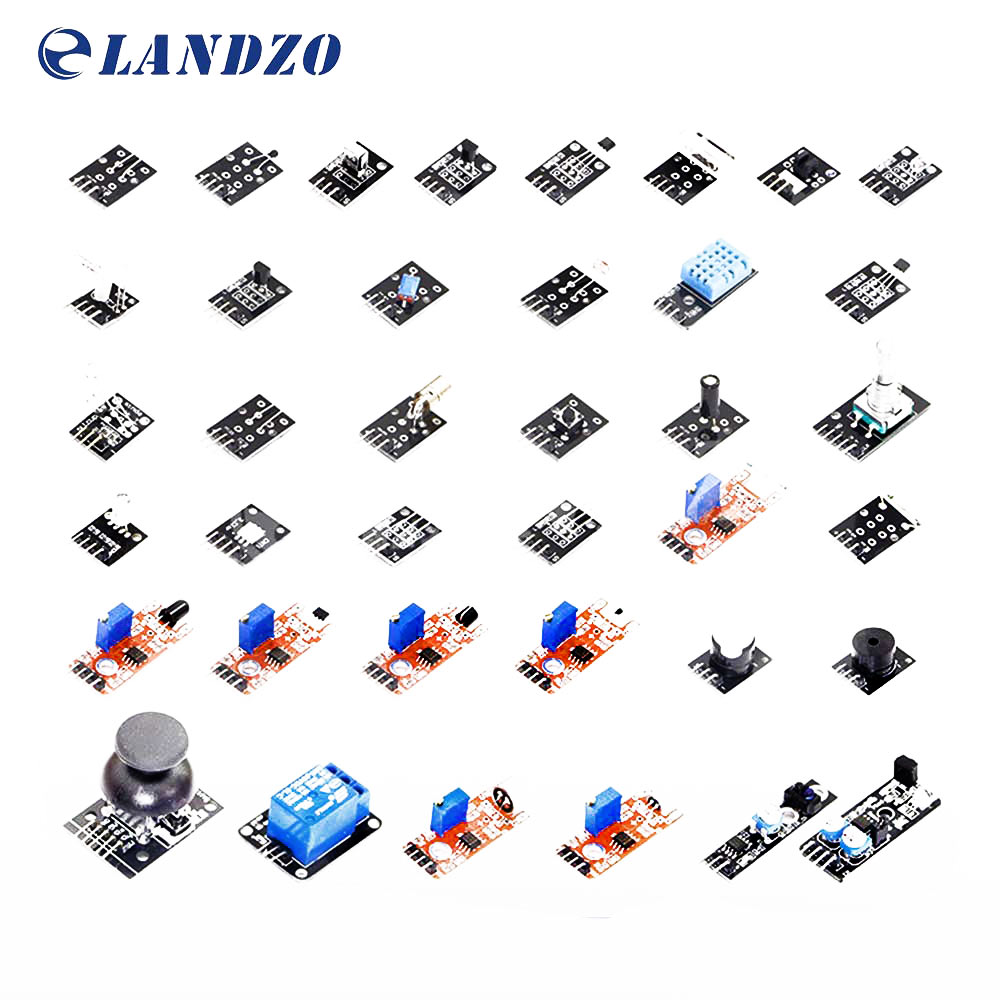 37 IN 1 Sensor Kit For Arduino Starter Kit High Quality Works With Arduino Boards Landzo