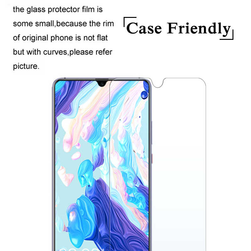 9H Hard Cover For Huawei Mate20 Lite P10 P20 Lite Pro P Smart 2019 Cases Screen Protector For Honor 10 9 8 Lite Nova 3 3i Cover