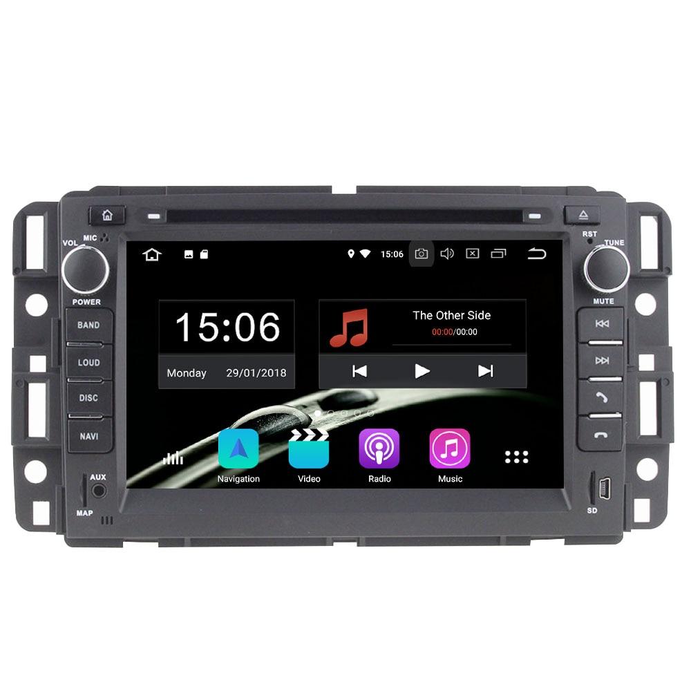 7 ''Android 8.0.0 Octa Core 4 ГБ Оперативная память 32 ГБ Встроенная память автомобильный DVD gps видео плеер навигации радио для GMC Yukon Savana/Sierra/Tahoe/Acadia