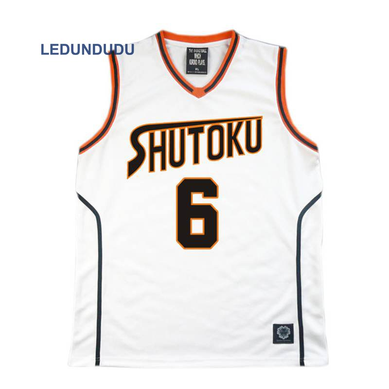 Anime Kuroko no Basuke Basket Cosplay Shutoku School Uniforms Midorima Shintaro Men Jersey Sportswear T-shirt Shorts Set 4 5 6