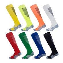 Мужские и женские носки для волейбола, футбола, тонкие спортивные носки для сноубординга, кемпинга, туризма, регби, футбольные носки, дышащие колготки, LT-10