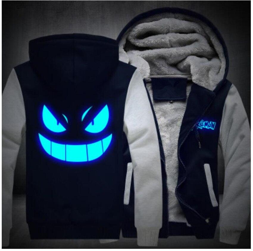 men's-hoodies-sweatshirts-winter-thicken-fleece-clothing-anime-font-b-pokemon-b-font-go-pocket-monster-gengar-luminous-coats-glowing-usa-size