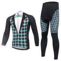 XINTOWN платье для верховой езды одежда с длинным рукавом комплект велосипед флис ветрозащитный потепления Функциональная одежда