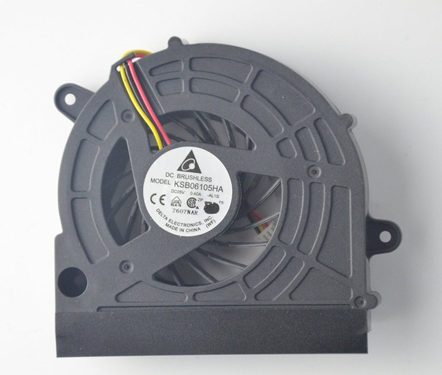 New laptop CPU Fan for TOSHIBA C675 L770 L770D L775 L775D KSB06105HA DFS531305M30T FAJ5