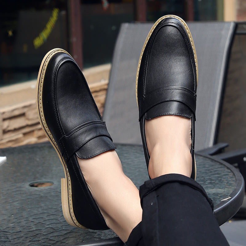 2019 Mens Formal Dress Shoes Black White Leather Wedding Shoes Men Loafers Chaussure Homme Casual Flats Oxford hjm892019 Mens Formal Dress Shoes Black White Leather Wedding Shoes Men Loafers Chaussure Homme Casual Flats Oxford hjm89