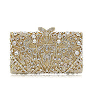 female gold day clutches Lady Sparkling Bag Purse Evening Party Handbag Day Clutch Shining Clutch Large Capacity Wallet silver