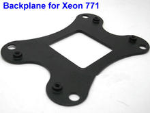 Backplane for LGA771 604, for Intel Xeon 771, Carbon steel, Installation Hole 38 * 81.5mm(China)