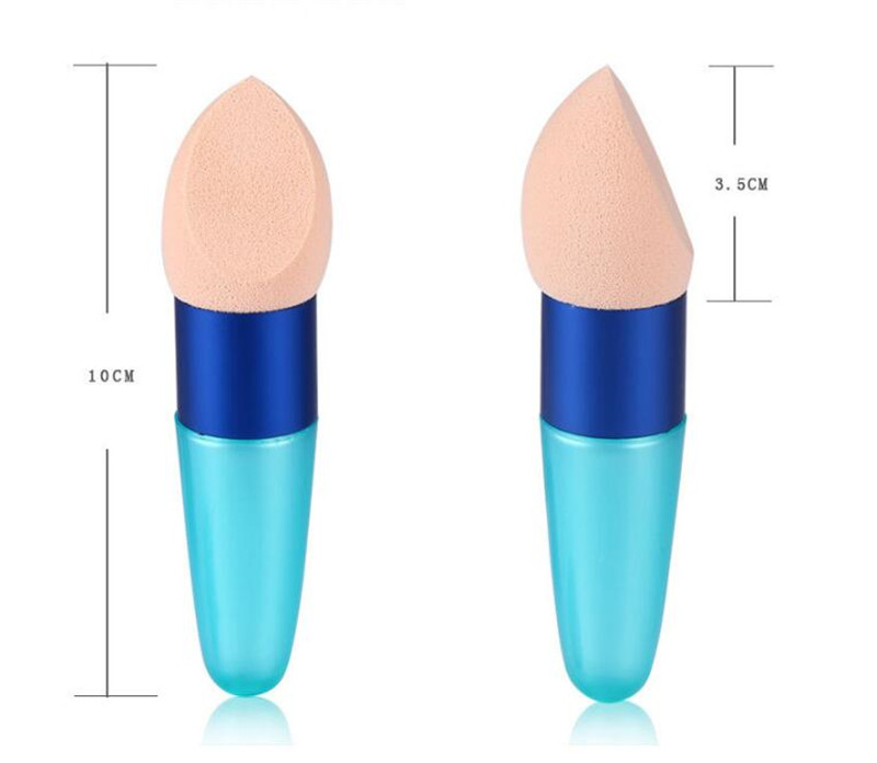 1pcs Cream Foundation Beauty Makeup Sponge Cosmetic Makeup Brushes Liquid Sponge Brush