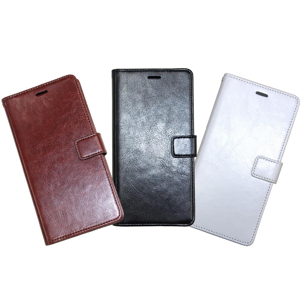 Luxusní Flip PU kožená peněženka pouzdro pro Huawei Ascend P8 - Příslušenství a náhradní díly pro mobilní telefony