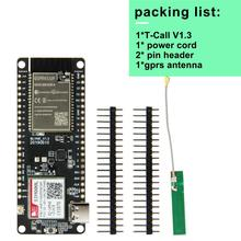 T-Call V1.3 ESP32 Wireless Module GPRS Antenna SIM Card SIM800L Module цена