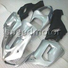 Parafusos + NOVO artigo do molde de Injeção tampa da motocicleta ZX 6R ZX6R 05-06 prata 636 2005 2006 ABS carenagem para Kawasaki Ninja